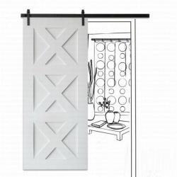 Амбарная дверь МДФ 9