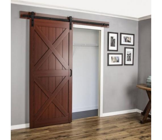 Амбарная дверь МДФ 6