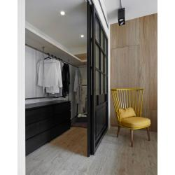 с раздвижной дверью лофт перегородка 1
